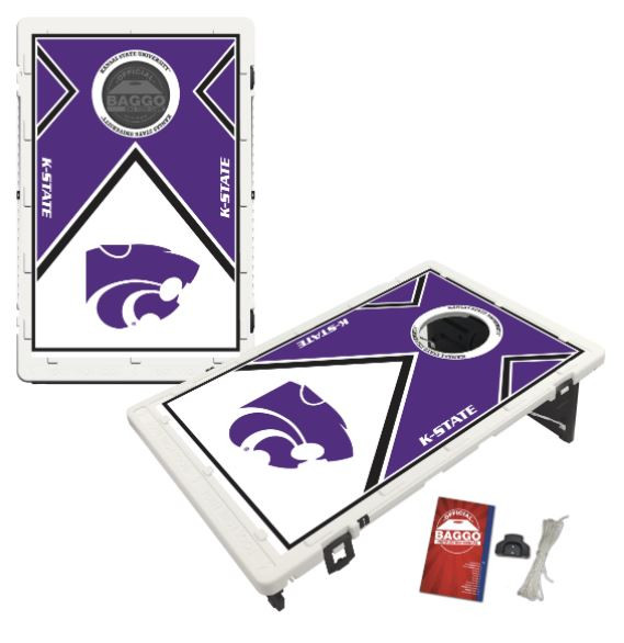 Kansas State Wildcats Bean Bag Toss Game by BAGGO