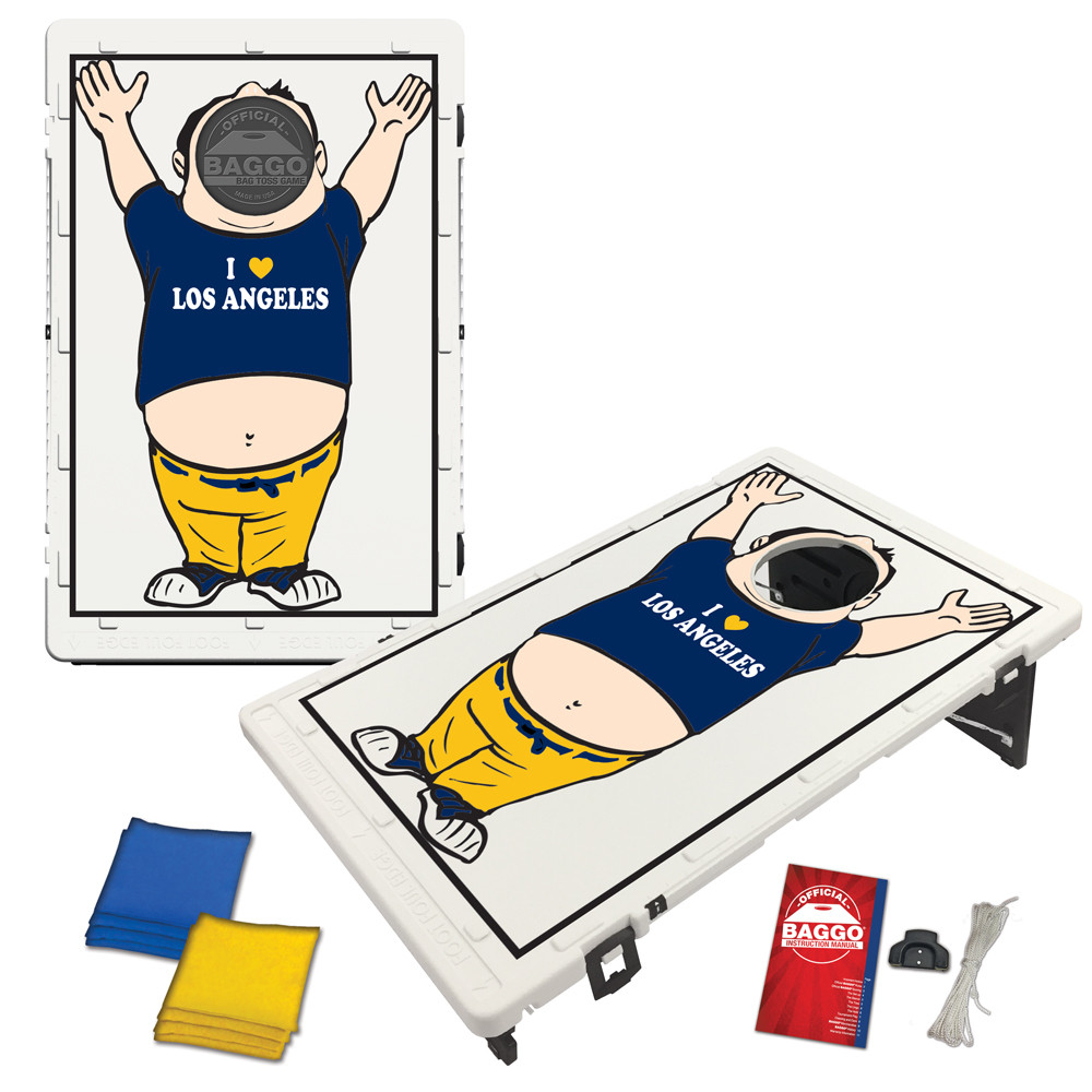 Los Angeles Baggo Fan Bag Toss Game by BAGGO