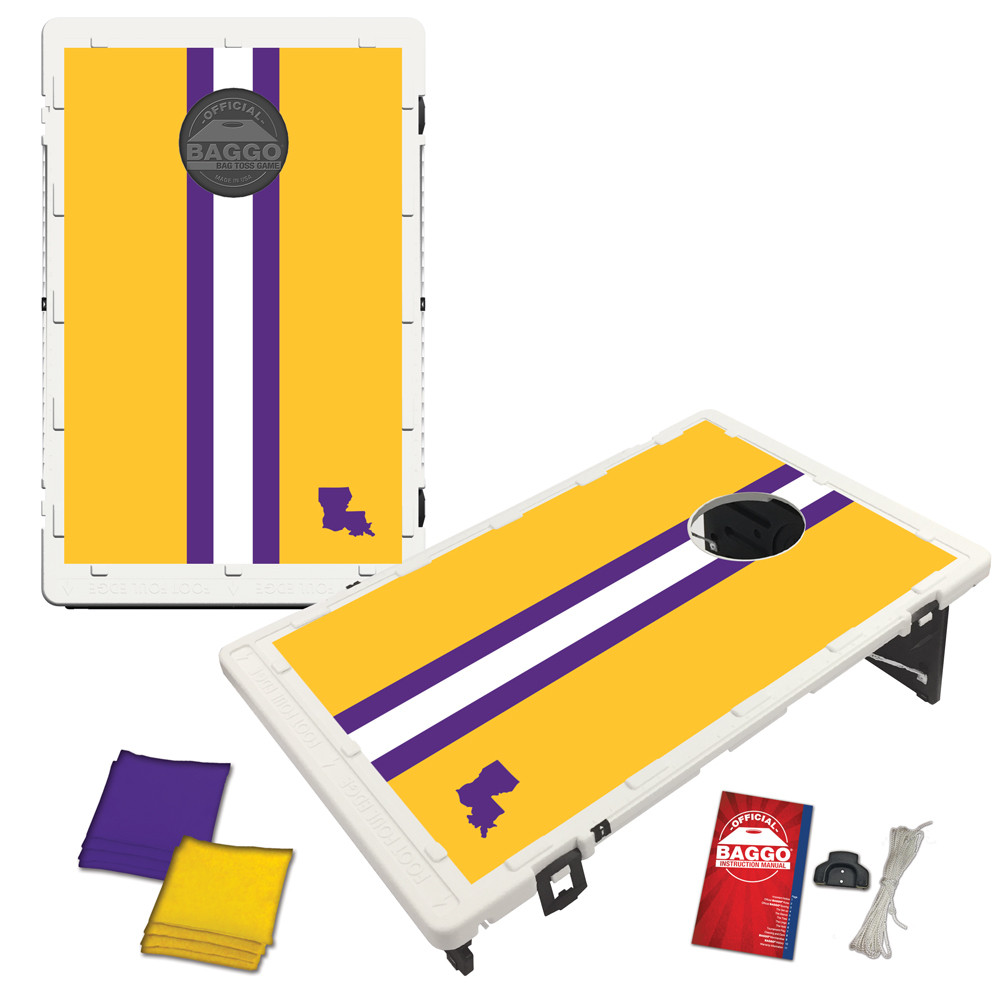Louisiana Gridiron Bag Toss Game by BAGGO