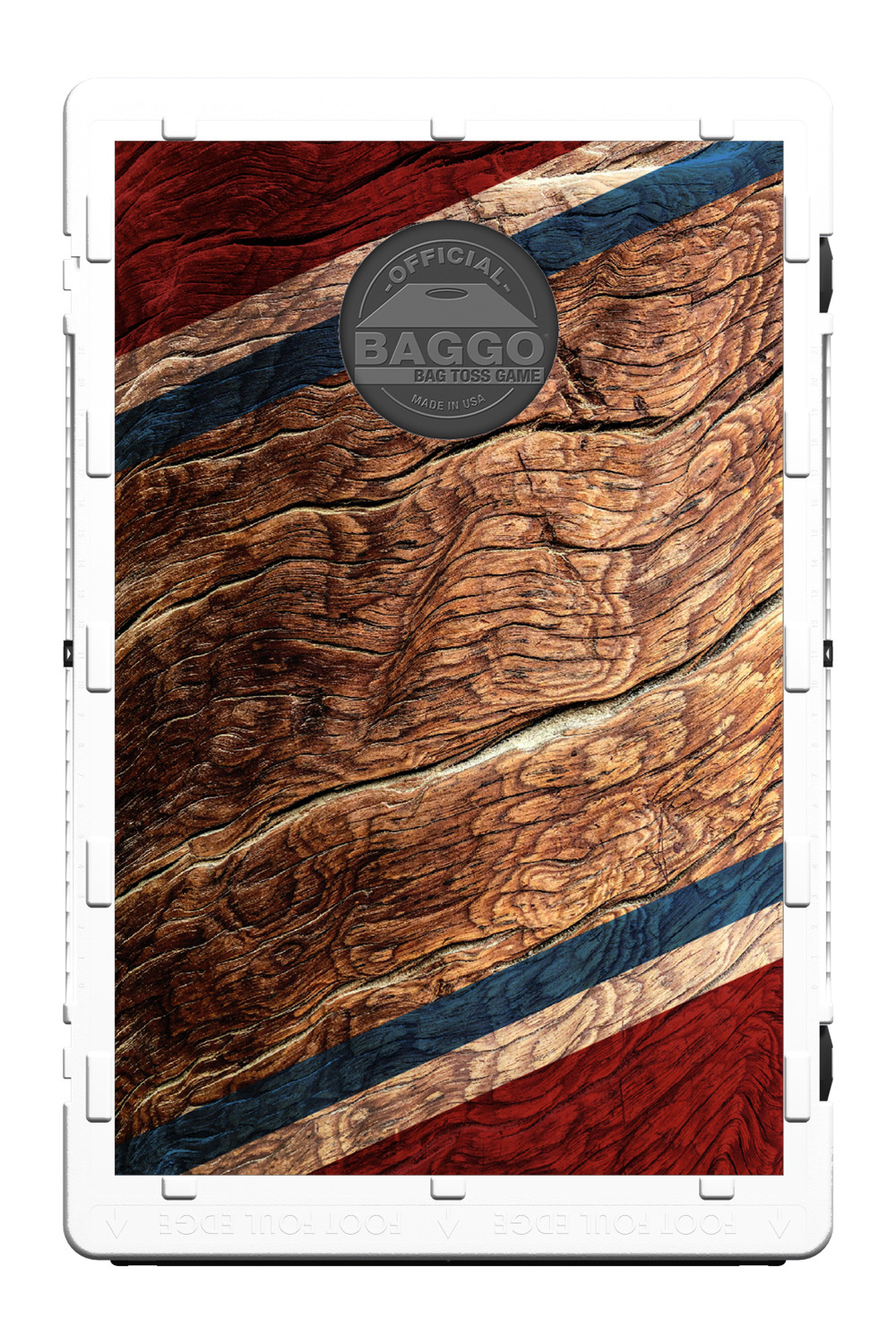 Marbled Red White and Blue Screens (only) by Baggo