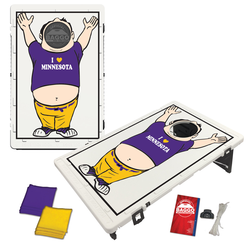 Minnesota Baggo Fan Bag Toss Game by BAGGO