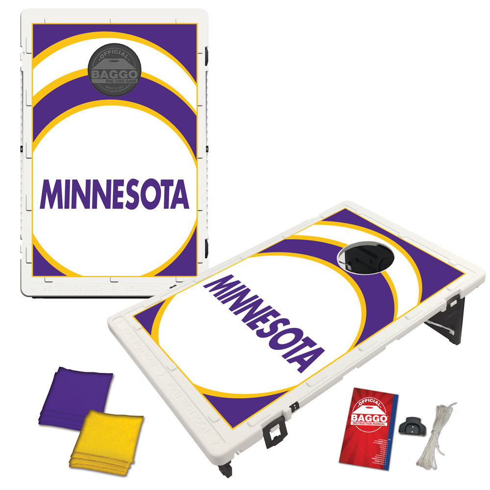 Minnesota Vortex Baggo Bag Toss Game by BAGGO
