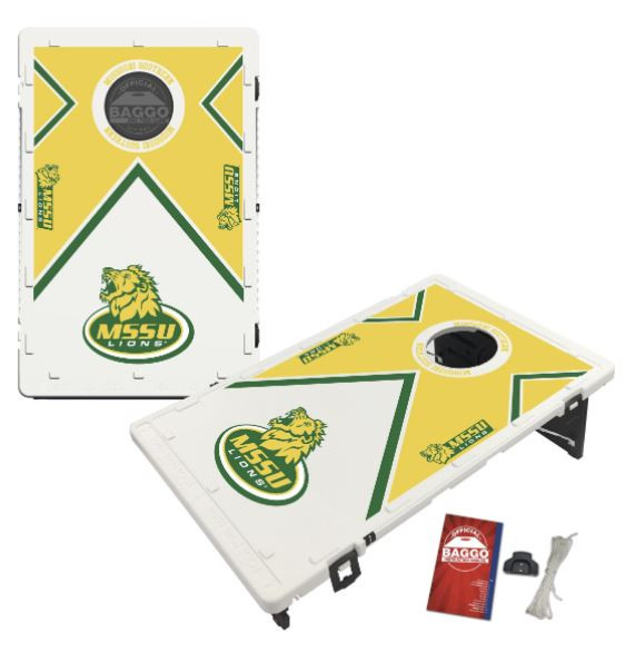 Missouri Southern State MSSU Lions Bean Bag Toss Game by BAGGO