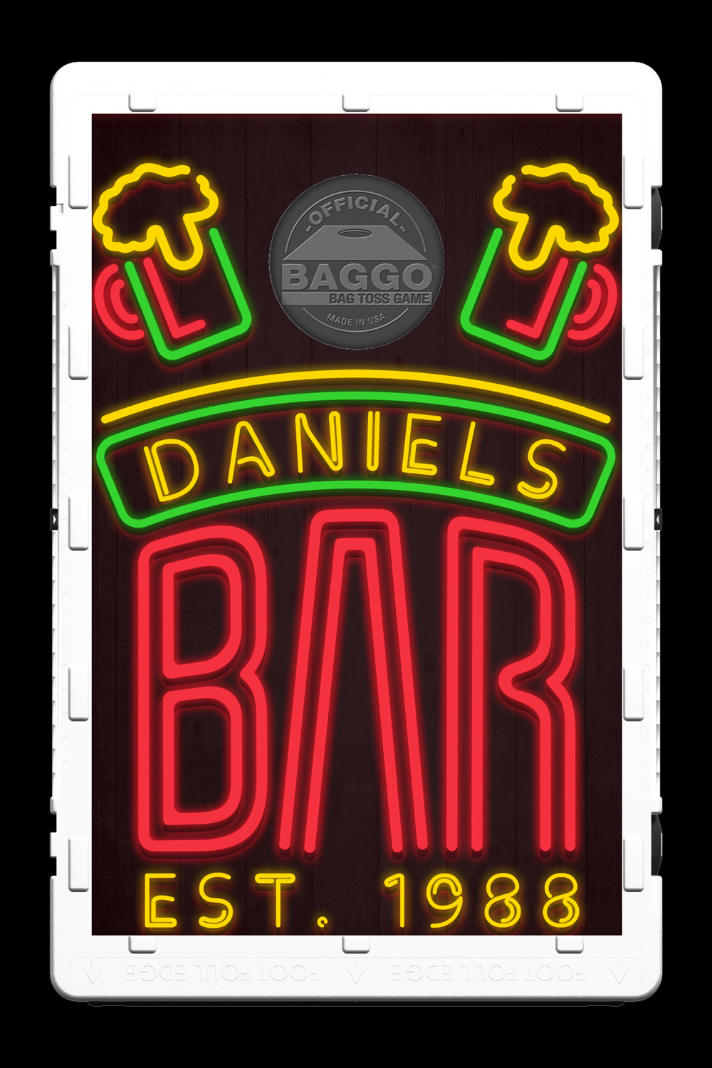 Pub Neon Bar Sign Screens (only) by Baggo