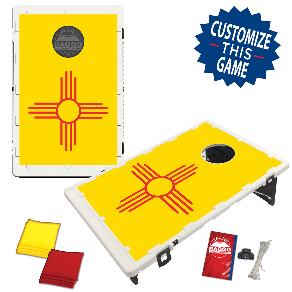 New Mexico Flag Bean Bag Toss Game by BAGGO