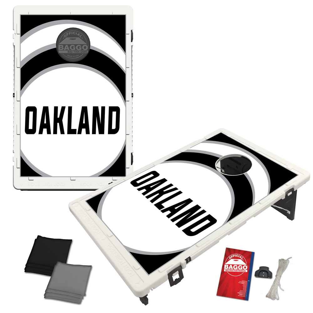 Oakland Vortex Baggo Bag Toss Game by BAGGO