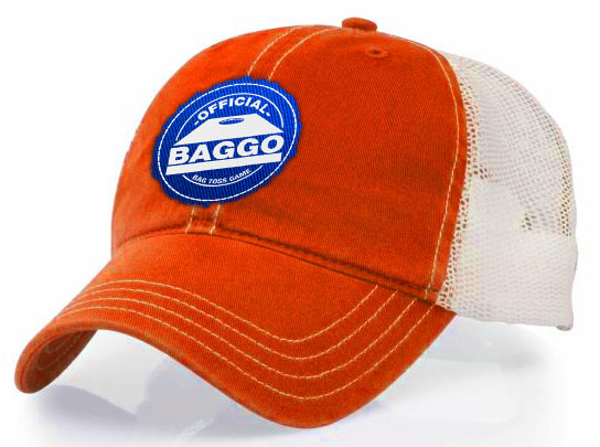 Orange Baggo Hat