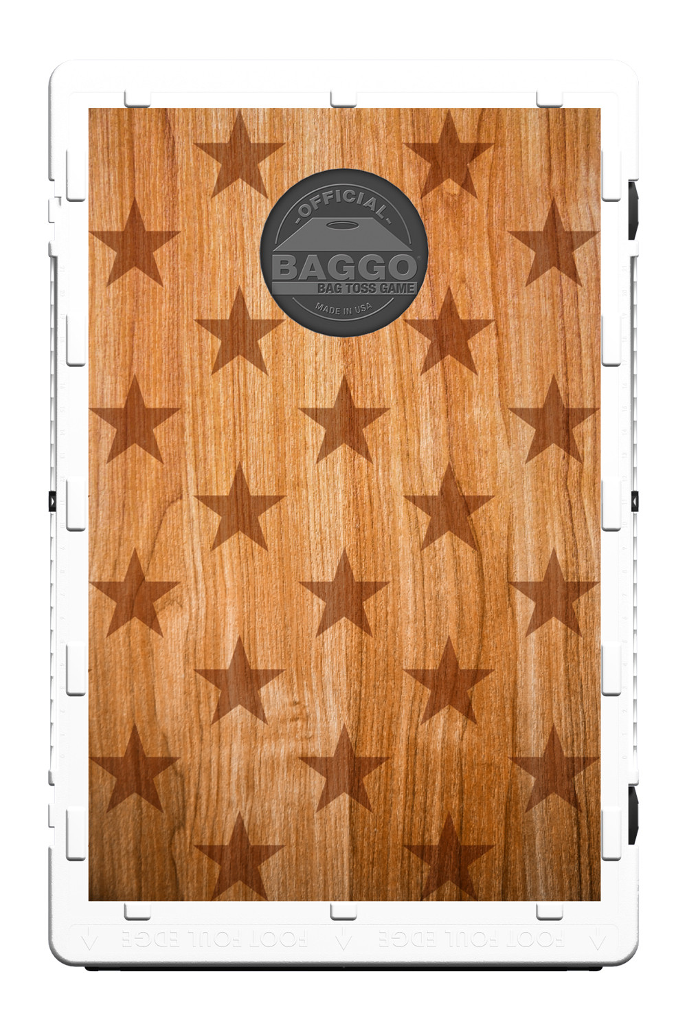 Patriotic Timber Screens (only) by Baggo