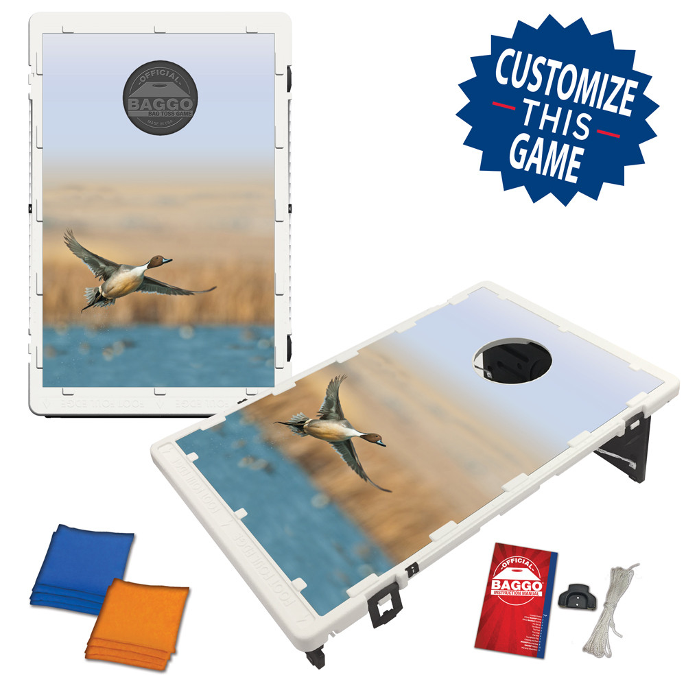 Pintail Duck in Flight Bean Bag Toss Game by BAGGO