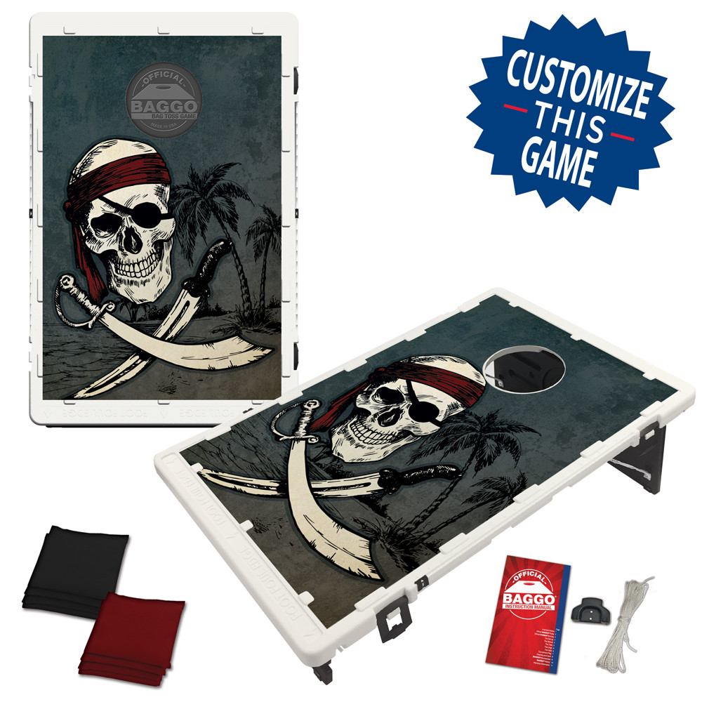 Pirate Skull Bean Bag Toss Game by BAGGO