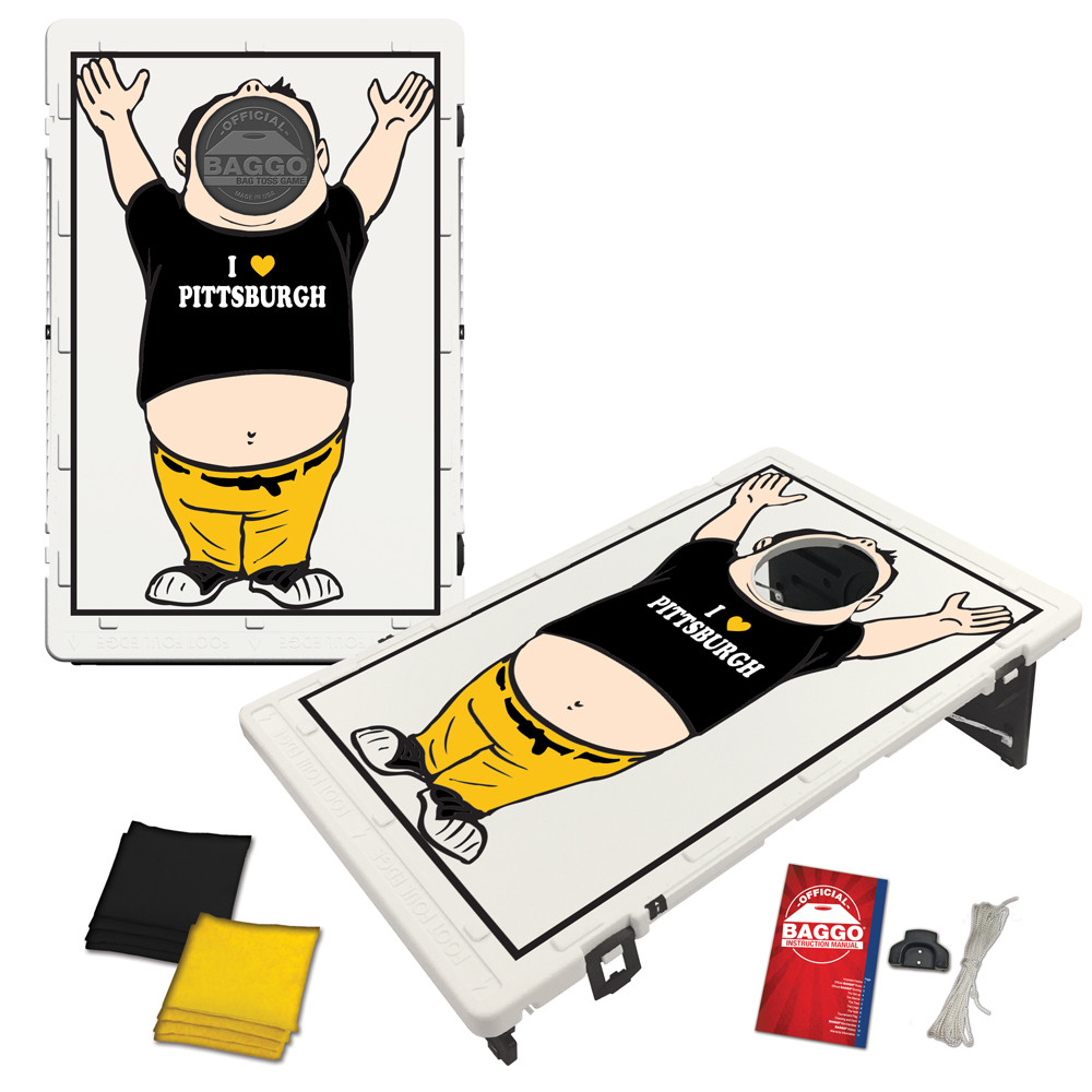 Pittsburgh Baggo Fan Bag Toss Game by BAGGO