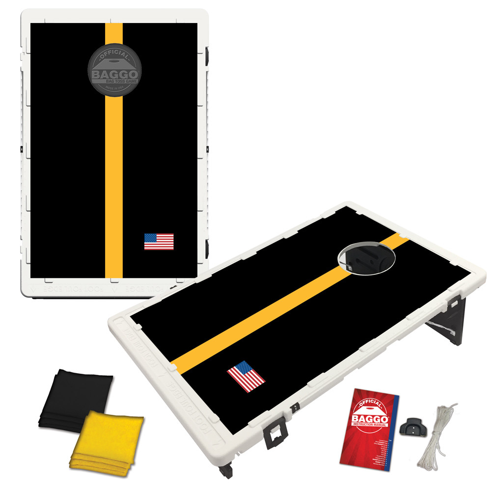 PIttsburgh Gridiron Bag Toss Game by BAGGO