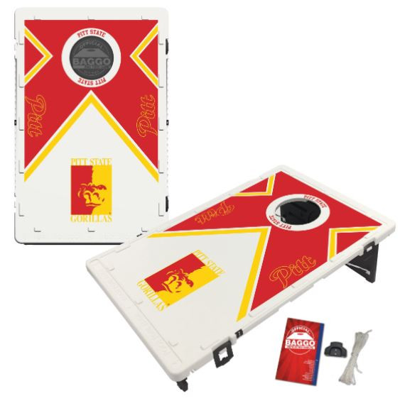 Pitt State Gorillas Bean Bag Toss Game by BAGGO