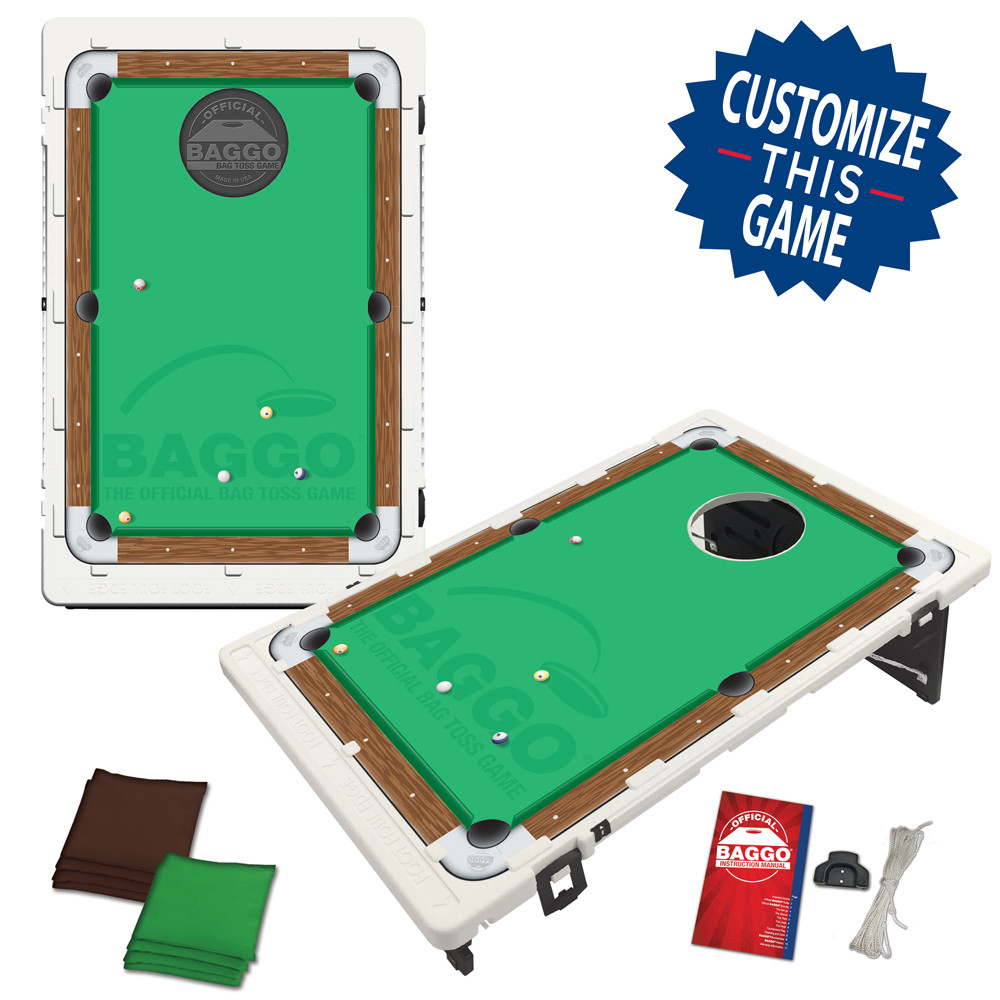 Pool Table Bean Bag Toss Game by BAGGO