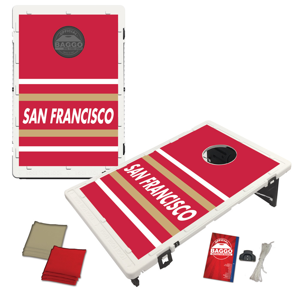 San Francisco Horizon Baggo Bag Toss Game by BAGGO