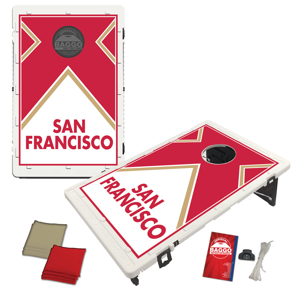 San Francisco Vintage Baggo Bag Toss Game by BAGGO