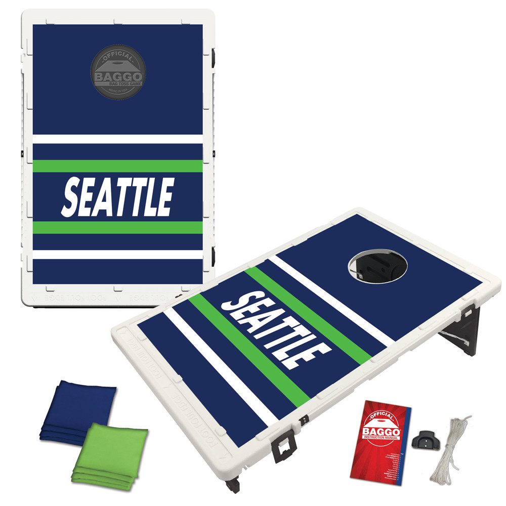 Seattle Horizon Baggo Bag Toss Game by BAGGO