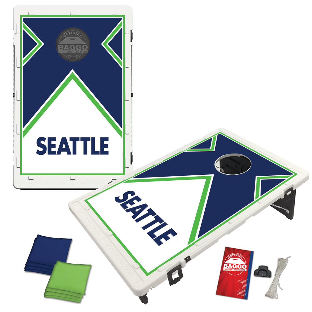 Seattle Vintage Baggo Bag Toss Game by BAGGO