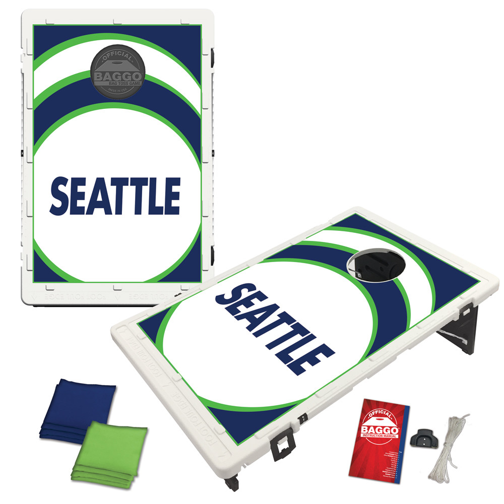 Seattle Vortex Baggo Bag Toss Game by BAGGO