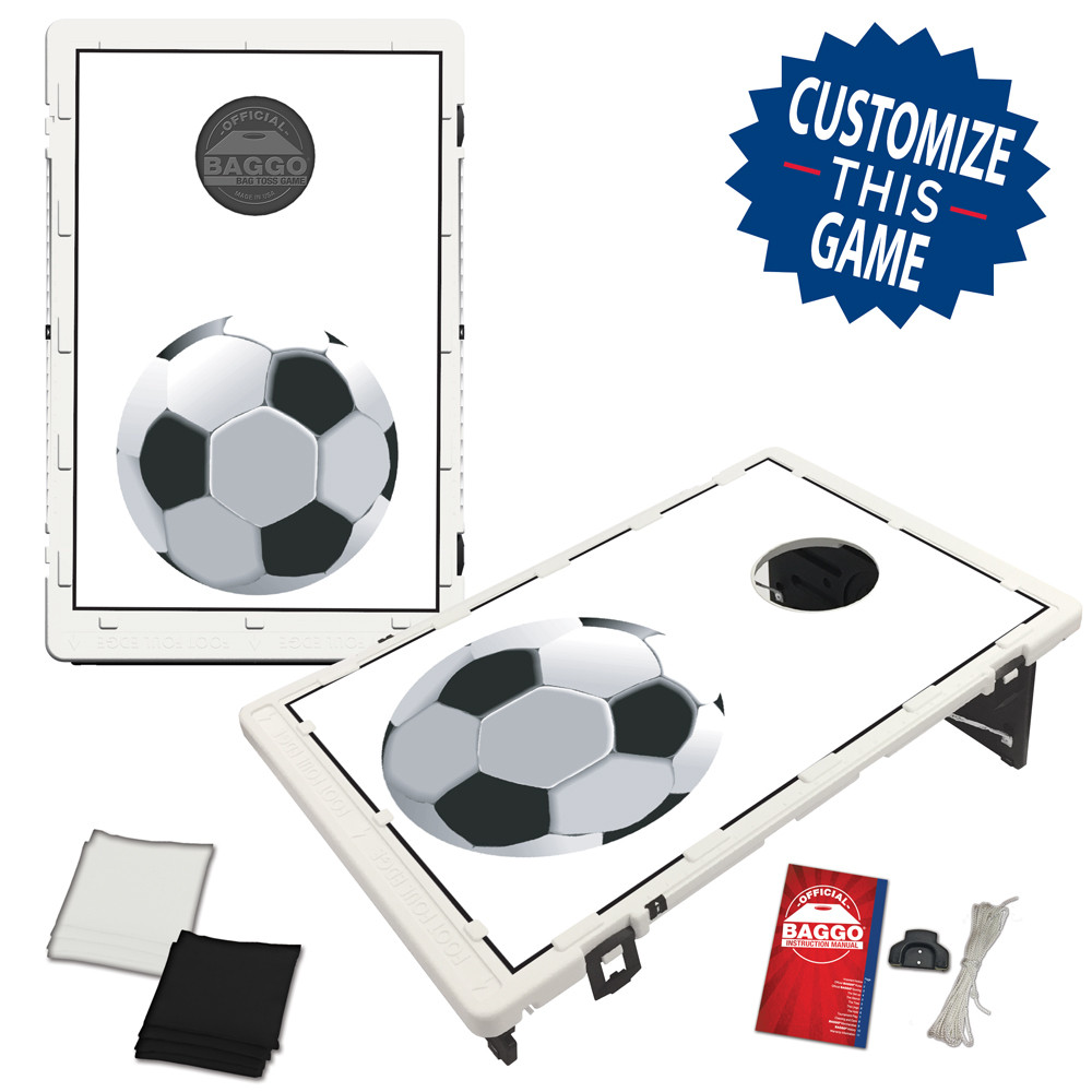 Soccer Bean Bag Toss Game by BAGGO