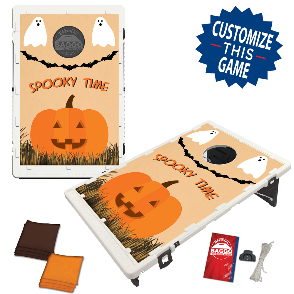 Spooky Time Bean Bag Toss Game by BAGGO