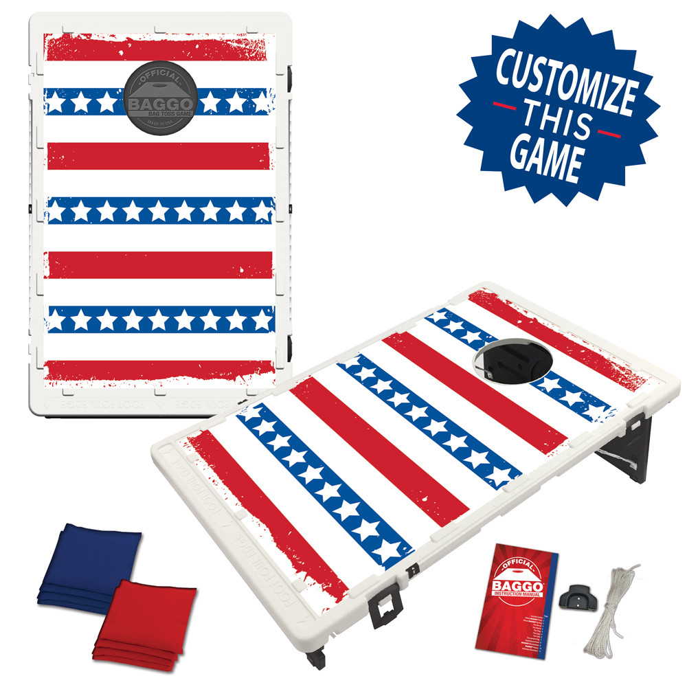 Stars in Rows Flag Bag Toss Game by BAGGO