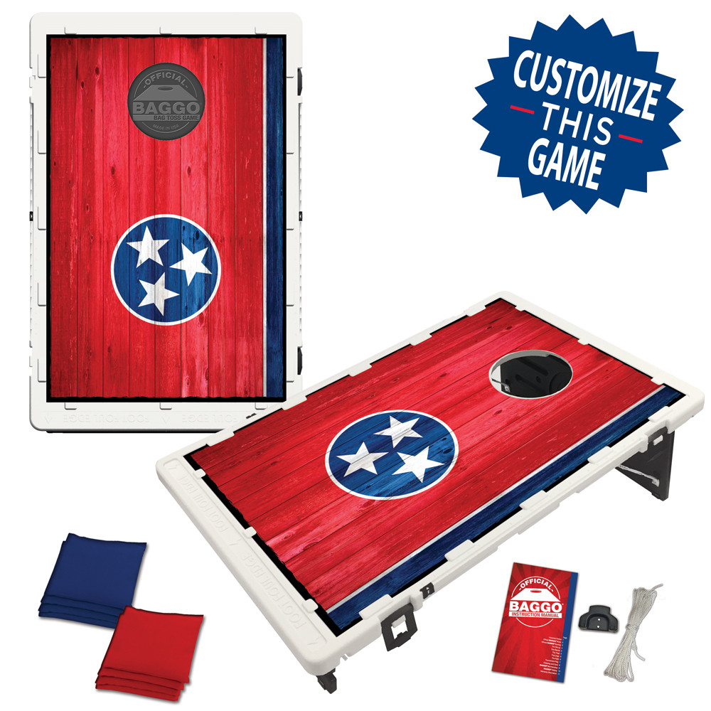Tennessee Flag Heritage Edition Bean Bag Toss Game by BAGGO