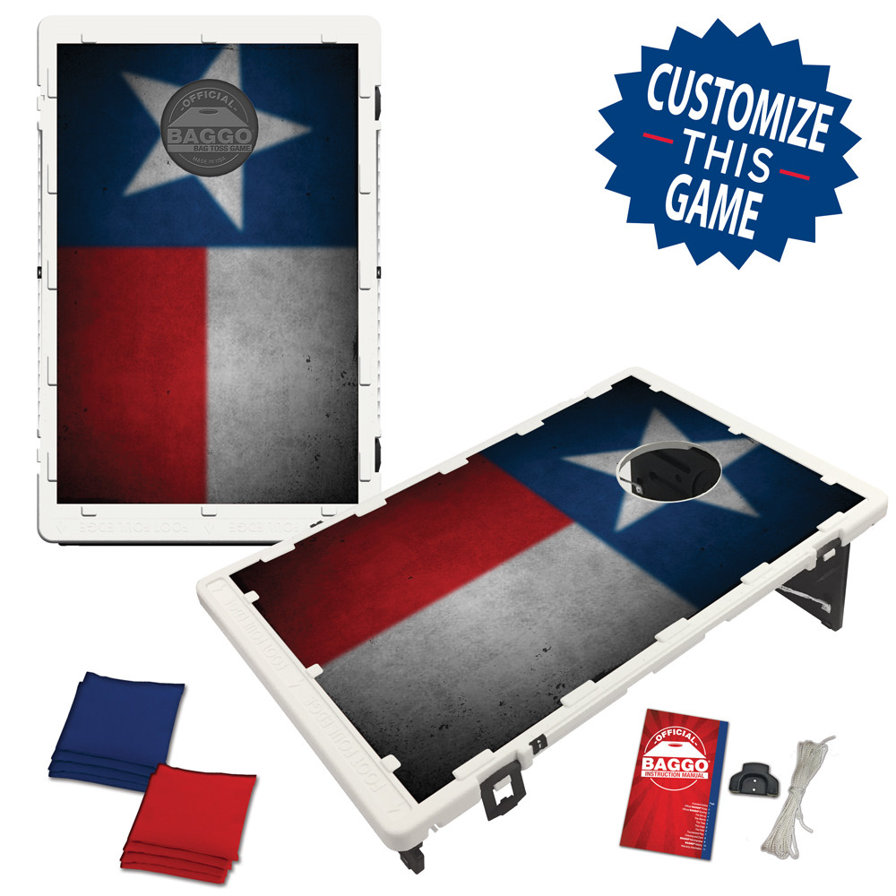 Texas Flag Heritage Edition Bean Bag Toss Game by BAGGO