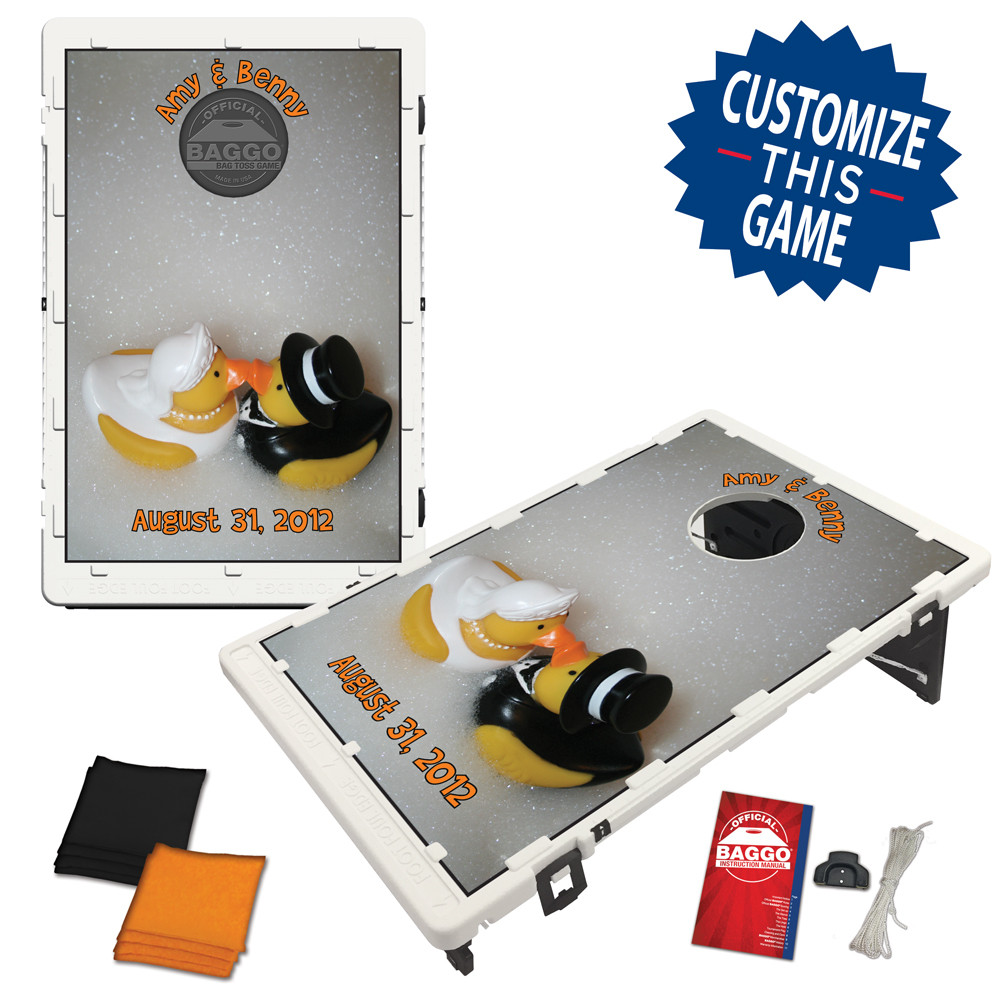 Wedding Ducks Bean Bag Toss Game by BAGGO