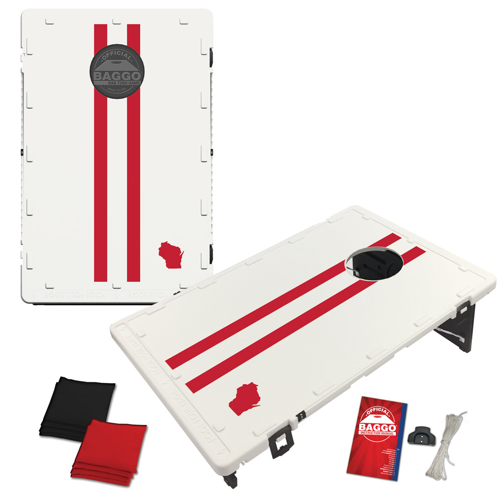 Wisconsin Gridiron Bag Toss Game by BAGGO