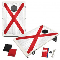 Alabama Flag Heritage Edition Bean Bag Toss Game by BAGGO