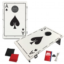 Ace of Spades Bean Bag Toss Game by BAGGO