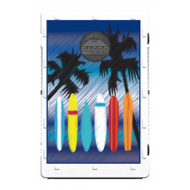 Surf Boards at the Beach Screens (only) by Baggo