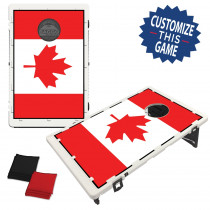 Canadian Flag Baggo Game