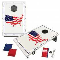 USA Map Flag Bean Bag Toss Game by BAGGO