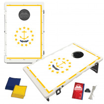 Rhode Island State Flag Bean Bag Toss Game by BAGGO