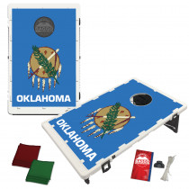 Oklahoma State Flag Bean Bag Toss Game by BAGGO