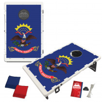 North Dakota State Flag Bean Bag Toss Game by BAGGO