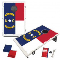 North Carolina State Flag Bean Bag Toss Game by BAGGO