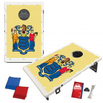 New Jersey State Flag Bean Bag Toss Game by BAGGO