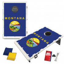 Montana State Flag Bean Bag Toss Game by BAGGO