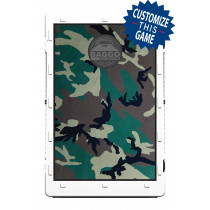 Camoflauge Black/Khaki Screens (only) by Baggo