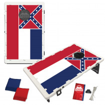 Mississippi State Flag Bean Bag Toss Game by BAGGO