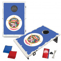 Minnesota State Flag Bean Bag Toss Game by BAGGO