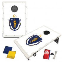 Massachusetts State Flag Bean Bag Toss Game by BAGGO