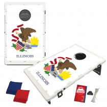 Illinois State Flag Bean Bag Toss Game by BAGGO
