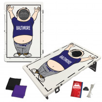 Baltimore Baggo Fan Bag Toss Game by BAGGO