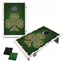Celtic Shamrock Bean Bag Toss Game by BAGGO