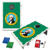Washinton State Flag Bean Bag Toss Game by BAGGO