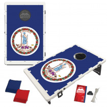 Virginia State Flag Bean Bag Toss Game by BAGGO